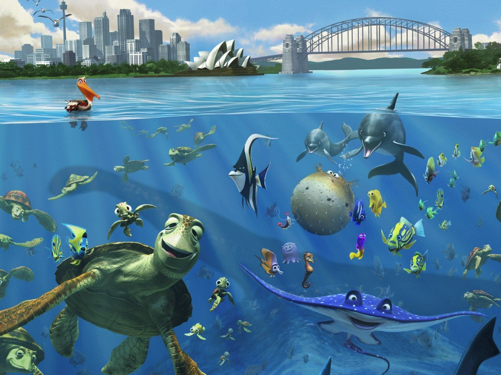 Finding Nemo Characters